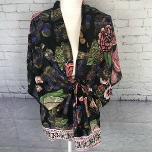 Free People Only In Dreams Kimono One Size